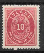 Iceland  1875 - AFA 8 - mint hinged