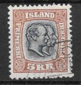 Iceland  1907 - AFA 62 - cancelled