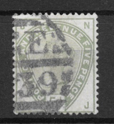Great-Britain 1883 - AFA 78 - cancelled