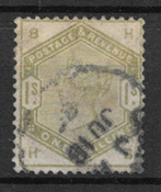 Great-Britain 1883 - AFA 81 - cancelled