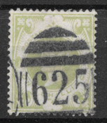 Great-Britain 1887 - AFA 97 - cancelled
