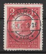 Sweden 1924 - AFA 172 - cancelled