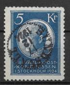 Sweden 1924 - AFA 173 - cancelled