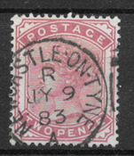 Great-Britain 1880 - AFA 58 - cancelled