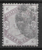 Great-Britain 1883 - AFA 76 - cancelled