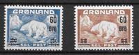 Greenland 1956 - AFA 37-38 - mint not hinged