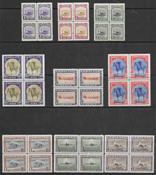 Greenland 1945 - AFA 8-16 i 4 -blok - mint not hinged
