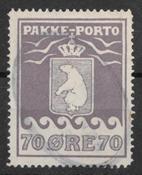Greenland 1930 - Pak.  AFA  10 - cancelled