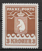 Greenland 1930 - Pak.  AFA  12 - mint hinged