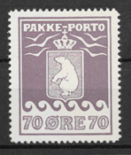 Greenland 1937 - Pak.  AFA  17 - mint hinged