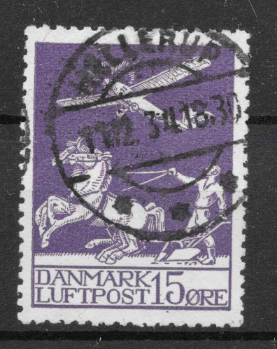 Danmark 1925 - AFA 145 - stemplet