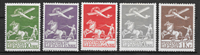 Denmark 1925 - AFA 144-46+181-82 - mint hinged