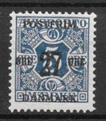Denmark 1918 - AFA 86X - mint not hinged