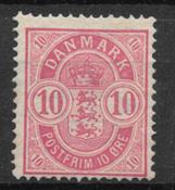 Denmark 1886 - AFA 35a - mint hinged