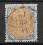 Denmark 1877 - AFA 31 - cancelled