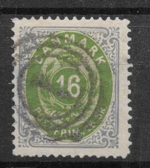 Danmark 1871 - AFA 20 - stemplet