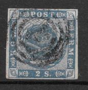 Denmark 1855 - AFA 3 - cancelled