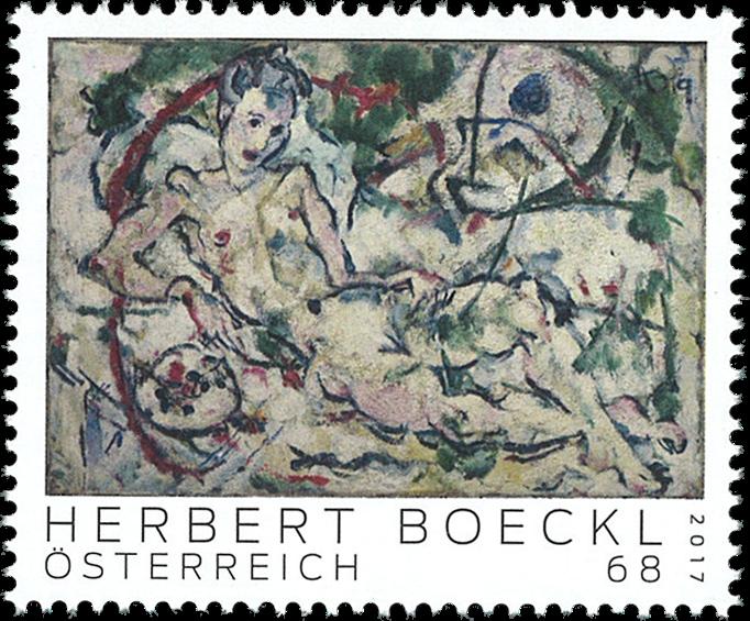 Østrig - Herbert Boeckl - Postfrisk frimærke