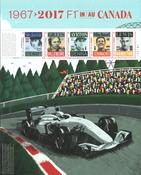 Canada - Formel 1 i Canada - Postfrisk miniark