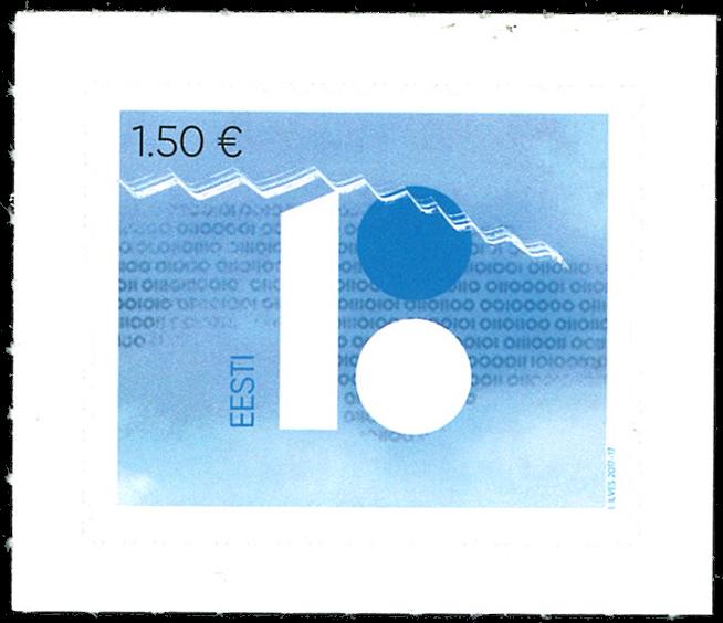 Estland - 100-året for Rebublikken Estland - Postfrisk frimærke