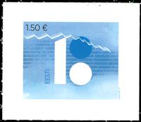 Estonia - 100 years of the Republic Estonia - Mint stamp