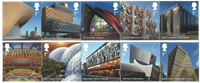 Great Britain - Landmark Buildings - Mint set 10v