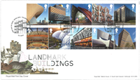 Great Britain - Landmark Buildings - First Day Cover