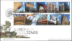 England - Legendariske bygningsværker - Førstedagskuvert