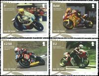 Man - TT vinder Joey Dunlop - Postfrisk sæt 4v