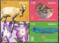 FN Wien - Truede dyr 2017 - Postfrisk sæt 4v