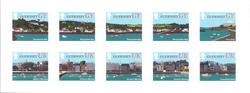 Guernsey - Landskaber - Postfrisk 10-ark