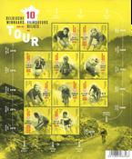 Belgium - Tour winners - Souvenir sheet