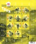 Belgien - Tour vindere - Postfrisk miniark