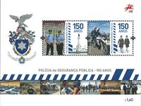 Portugal - Politistyrken - Postfrisk miniark