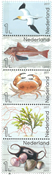 Netherlands - Life in Nothern Sea * - Mint stamp