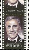 Austria - Christoph Waltz - Mint stamp