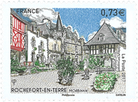 France - Rochefort en Terre - Mint stamp