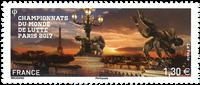 France - Wrestling - Mint stamp