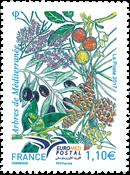France - Euromed - Mint stamp