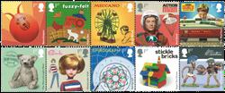 England - Klassisk legetøj - Postfrisk sæt 10v