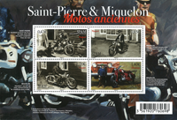 Saint Pierre and Miquelon - Cars - Mint souvenir sheet