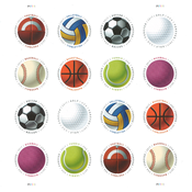 United States - Have a Ball - Mint sheetlet