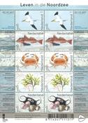 Holland - Nordsøens dyreliv - Postfrisk ark