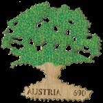 Østrig - Egetræ - Postfrisk miniark af ægte egetræ