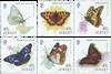 Jersey - Sommerfugle - Postfrisk sæt 6v