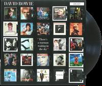 England - David Bowie Album A Fan ark - Postfrisk ark - totalt udsolgt på udgivelsesdatoen