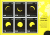 Alderney - Solformørkelsen - Postfrisk miniark varmefølsomt tryk