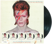 Great Britain - David Bowie Aladdin Sane - Mint sheetlet