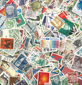 Tyskland - 1500 forskellige stemplede frimærker