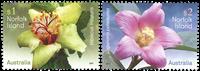 Norfolk Islands - Flowers - Mint set 2v
